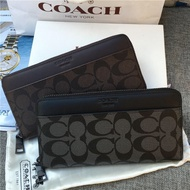 coach男生長夾 outlet代購COACH 74597 75000