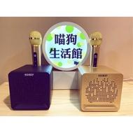 [台中現貨]SD504 便攜式藍牙音響 麥克風 ktv sdrd 單人音箱