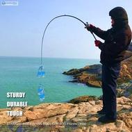 ✿BM✦ Resin Sea Lure Fishing Rod Strong Flexible Saltwater M Tonality Portable Fishing Pole