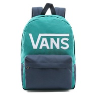 VANS - VN0002TLTCX New Skool Backpack 後背包 (藍綠) 化學原宿