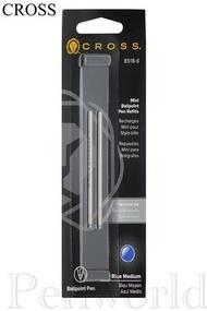 【Penworld】CROSS高仕 短型原子筆芯 2支入 8518-4~6