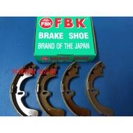 豐田 EXSIOR  PREMIO CORONA 後 鼓式 煞車皮 煞車片 來令片 鼓式來令片 台製 日本製 FBK
