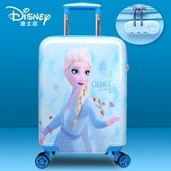 เด็กแช่แข็งรถเข็นสาว16นิ้วกระเป๋าเดินทางล้อกระเป๋าเดินทางAishaเจ้าหญิง18-กล่องลากนิ้ว