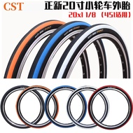 【Gaoqi】New Zhengxin Riding Tire 20X11/8 Bicycle Tire 20 Inch Folding Bike Tire Small Wheel Diameter Tire 451 Rim