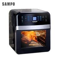 【SAMPO 聲寶】聲寶12L智能氣炸烤箱(KZ-L19123BL)