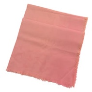 COACH 專櫃商品 89795 經典C LOGO 莫代爾棉質披肩/圍巾.粉橘