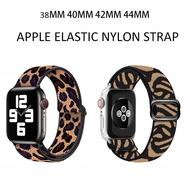 สายนาฬิกาApple Watch Elastic Strap Nylon Braided Strap 38Mm 40Mm 42Mm 44Mm I Watch Series 6 5 4 3 2 1 Bohemianสายเปลี่ยนได้