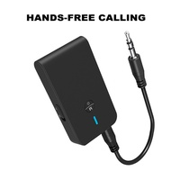 CNE 2 in 1 Bluetooth 5.0 USB Transceiver Audio Adapter Receiver with Hands-free Calling Function