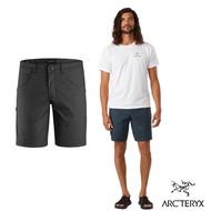 Arcteryx 始祖鳥 男 24系列 Phelix 防潑水 休閒 短褲 碳纖維灰