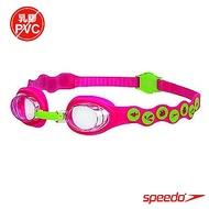SPEEDO 兒童 Sea squad 泳鏡 粉紅-綠