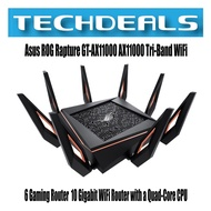 Asus ROG Rapture GT-AX11000 AX11000 Tri-Band WiFi 6 Gaming Router   10 Gigabit WiFi Router with a Quad-Core CPU