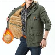 新款NIAN JEEP衝鋒衣男連帽加絨防風防水運動外套可脫卸夾克