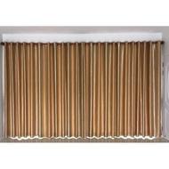 ผ้าม่านสำเร็จรูปกันแสงUV  ม่านหน้าต่าง ม่านประตู สีเทา สีทองสีน้ำตาล 130*150,130*220,130,250,200*150,200*220,200,250 ราคาต่อ1ชิ้น