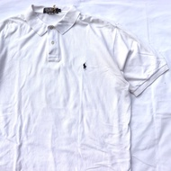 Vintage 古著 純白 Ralph Lauren POLO衫 馬球衫 polo shirt