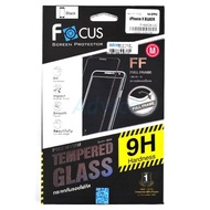 FOCUS Film APPLE IPHONE X (F+Bใส) นิรภัยเต็มจอ Black