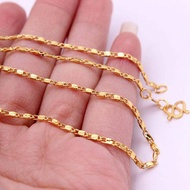 2MM 16-30inch Chain Gold Plated Yellow Filled Necklace