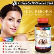 JR689 – 📺On TV Channel 8 and 5📺 Holistic Way 🔥 Deer Placenta 🔥 9000mg 🔥 Youthful Skin 🔥 Renew Cells 🔥 60Softgels Supplements