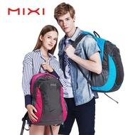 Mixi 21นิ้วผู้ชายประเภทกระเป๋าผู้หญิงกันน้ำกลางแจ้งกระเป๋าเป้สะพายหลังแฟชั่นความจุขนาดใหญ่กระเป๋าเดินทางน้ำหนักเบาซิปกระเป๋าลำลองกระเป๋านักเรียน M5005