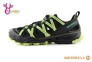 MERRELL CHOPROCK 成人男款 速乾 專業登山溯溪 黃金大底 水陸兩棲 運動涼鞋 H8371#黑綠 奧森
