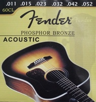 Fender / Yamaha Guitar Strings for Acoustic Classical Electric Guitars. Comes as a set of 6 strings