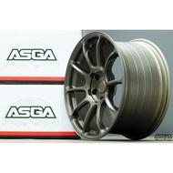 ASGA-ARF04 旋壓鋁圈   經典古銅金5孔100/108/112/114.3 17吋