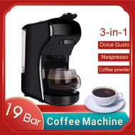 เครื่องทำกาแฟอัตโนมัติ,เครื่องทำกาแฟแคปซูลเนสเพรสโซเครื่องชงกาแฟ Dolce Gusto 19บาร์เครื่องใช้ในบ้าน