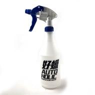 特製定量噴瓶 附藍色噴頭 好蠟,可裝75%稀釋酒精