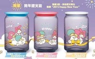 7-11 美樂蒂X雙星仙子 40週年紀念限定造型限量玻璃儲存罐 單賣 彩虹限定款 跨年煙火限量款