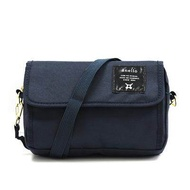 AT-H0431 Anello 2WAY Crossbody Shoulder Bags / Unisex Shoulder Bag / Mini Shoulder Clutch Bag #Navy