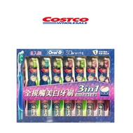 costco好市多代購 歐樂B全接觸美白牙刷 歐樂B牙刷 歐樂B清潔舒適牙線 歐樂B牙線