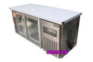 《利通餐飲設備》(瑞興)玻璃門 5尺工作台冰箱. 風冷五尺全冷藏工作台冰箱