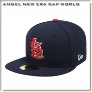 【ANGELNEW ERA】MLB 聖路易紅雀 深藍 59FIFTY 球員帽 棒球帽