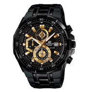 Casio Edifice รุ่น EFR-539BK-1AV สินค้าขายดี นาฬิกาข้อมือผู้ชาย สายสแตนเลส (สินค้าใหม่ล่าสุด)