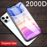 2000D ป้องกันหน้าจอกระจกนิรภัยบนสำหรับ Apple iPhone 11 PRO MAX I Phone 11 11pro PROMAX iphone11 ฟิล์มป้องกัน GLAS