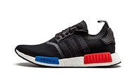 (adidas) adidas NMD_R1 Prime Knit OG Black/White/red/blue - S79168 (10.5)-
