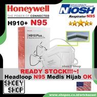 Honeywell Mask H910 Plus N95 Medical Hijab 3M Headloop 9502 9105 9501 Ecer Per 1pcs