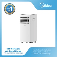 Midea Portable Air-Conditioner 1.0 HP with Wireless Remote Control and 60 Hz Supply Frequency. FP-54APT010HENV-N5