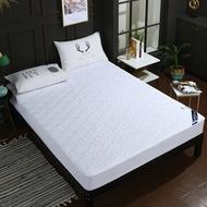 【現貨】 防水加厚保潔墊床包 雙人150*200cm 防髒 防塵 防螨 除臭 生理期 養寵物【喬森居家】