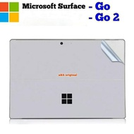 Laptop Skin 14 Inch Premium Skin Protector - Microsoft Surface Go Hayu 124; Go 2 Silver Matte - Surface Go 2