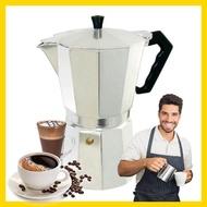 moka pot9 cupกาต้มกาแฟสด เครื่องชงกาแฟ เครื่องชงกาแฟสด เครื่องทำกาแฟ เครื่องทำกาแฟสด แบบพกพา ใช้ทำกาแฟสดทานได้ทุกที