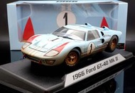 【MASH-2館】現貨特價 Shelby Collection 1/18 Ford GT40 #1 1966 髒污版