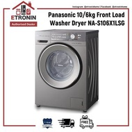 Panasonic 10/6kg Front Load Washer Dryer NA-S106X1LSG