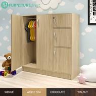 Furniture Direct 5 Doors children wardrobe with key lock/ almari baju/ almari baju kanak kanak