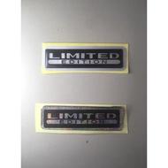 Limited Edition (Reflective) Emblem Sticker