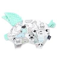 La Millou 豆豆小豬枕嬰兒枕-LA MILLOU FAMILY II-粉嫩糖果綠