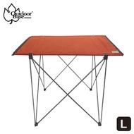 【Outdoorbase】極輕量7075航太級納米鋁合金輕量桌(迷你拼接桌 露營桌 單人桌 蛋捲桌-兩色任選)