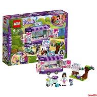 【威爾】LEGO樂高女孩積木好朋友系列艾瑪的藝術小鋪41332拼裝售賣貨車