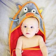法國ebulobo大野狼與小紅帽可愛浴巾組