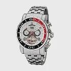 PIONIER GM-506時尚紳士機械款男士鋼帶手錶 -銀色 506-8