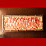 [將軍鍋物] 梅花豬 【200g】 黑豬肉片/火鍋肉片 特選黑豬肉 好吃不油膩